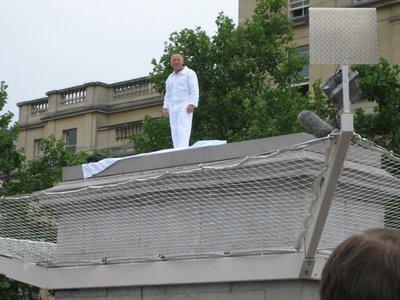 Chris Billington ~ Antony Gormley's Fourth Plinth ~ Trafalgar Square ~ London