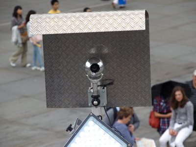 Chris Billington, Cornwall's modern artist on Antony Gormley's Fourth Plinth, Trafalgar Square ~ Watching You Watching Me