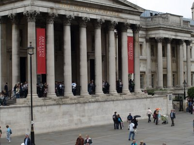 Chris Billington ~ Antony Gormley's Fourth Plinth ~ Trafalgar Square ~ The View From Here