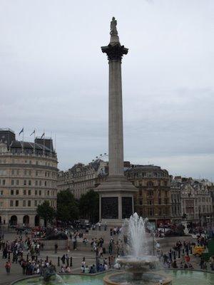 Chris Billington, Cornwall's modern artist on Antony Gormley's Fourth Plinth, Trafalgar Square, Nelson's Column