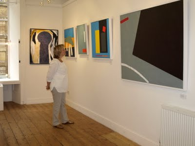 Cornwall Mines and Monuments exhibition - modern art meets Cornwall heritage ~ Chris Billington at Falmouth's Spring Gallery August 2009